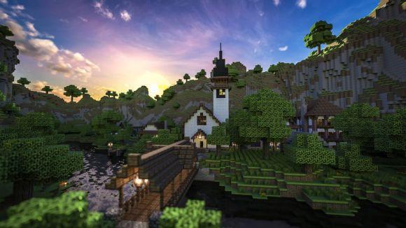 Fototapeta świat Minecraft